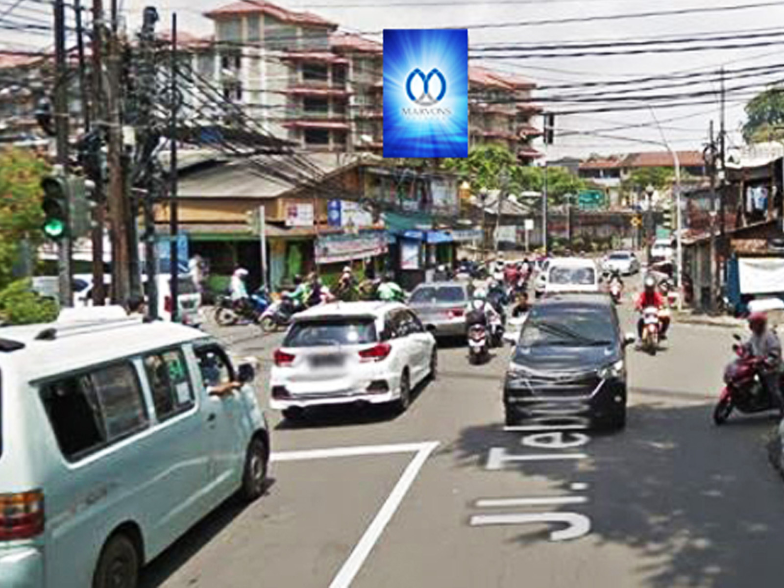 Volume Lalu Lintas Billboard Tebet (Warteg Warmo)
