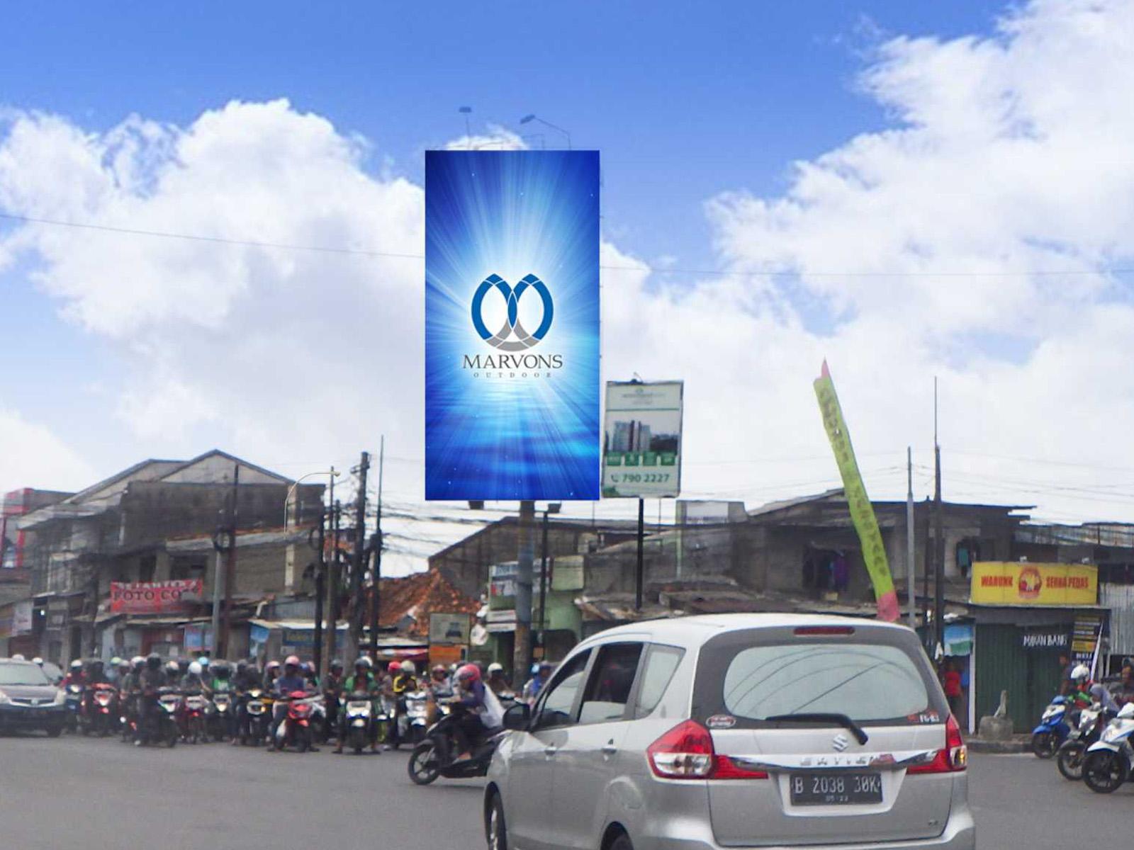 Dewi Sartika Pertigaan Lampu Merah (MV 133) - 5 m x 10 m x 1 mk Vertikal