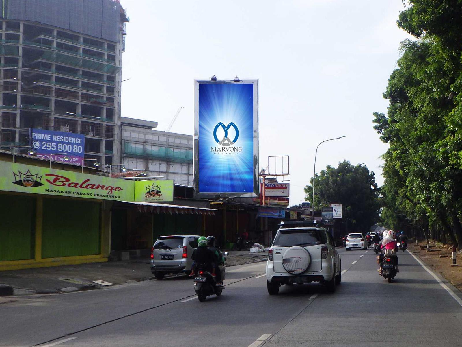 Tanjung Barat (MV 132) -  4 m x 8 m x 1 mk Vertikal