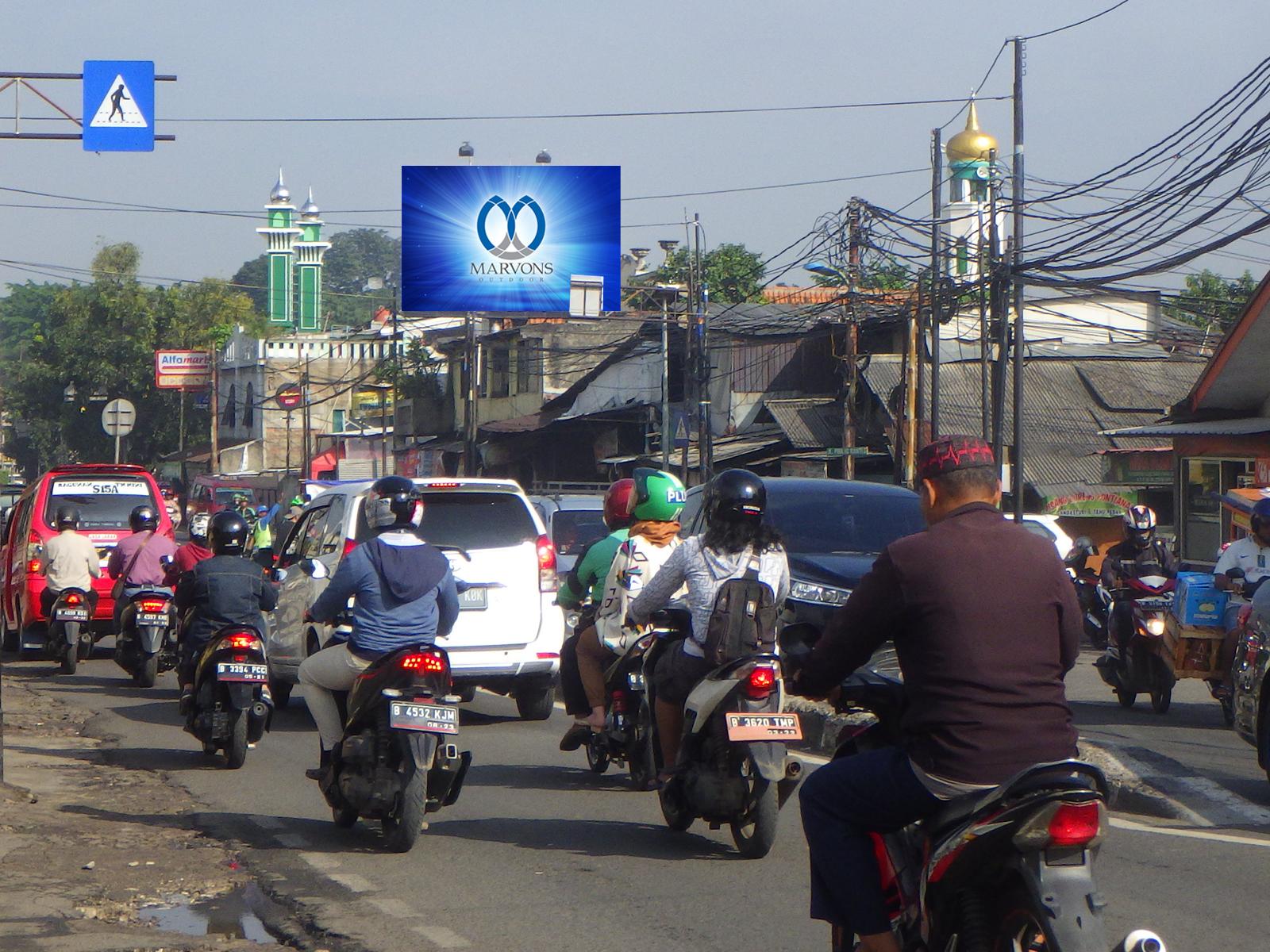 PT. Marvons Media Utama - Pondok Gede - Tamini Square (MV 070) - 4 m x 6 m x 2 mk Horizontal