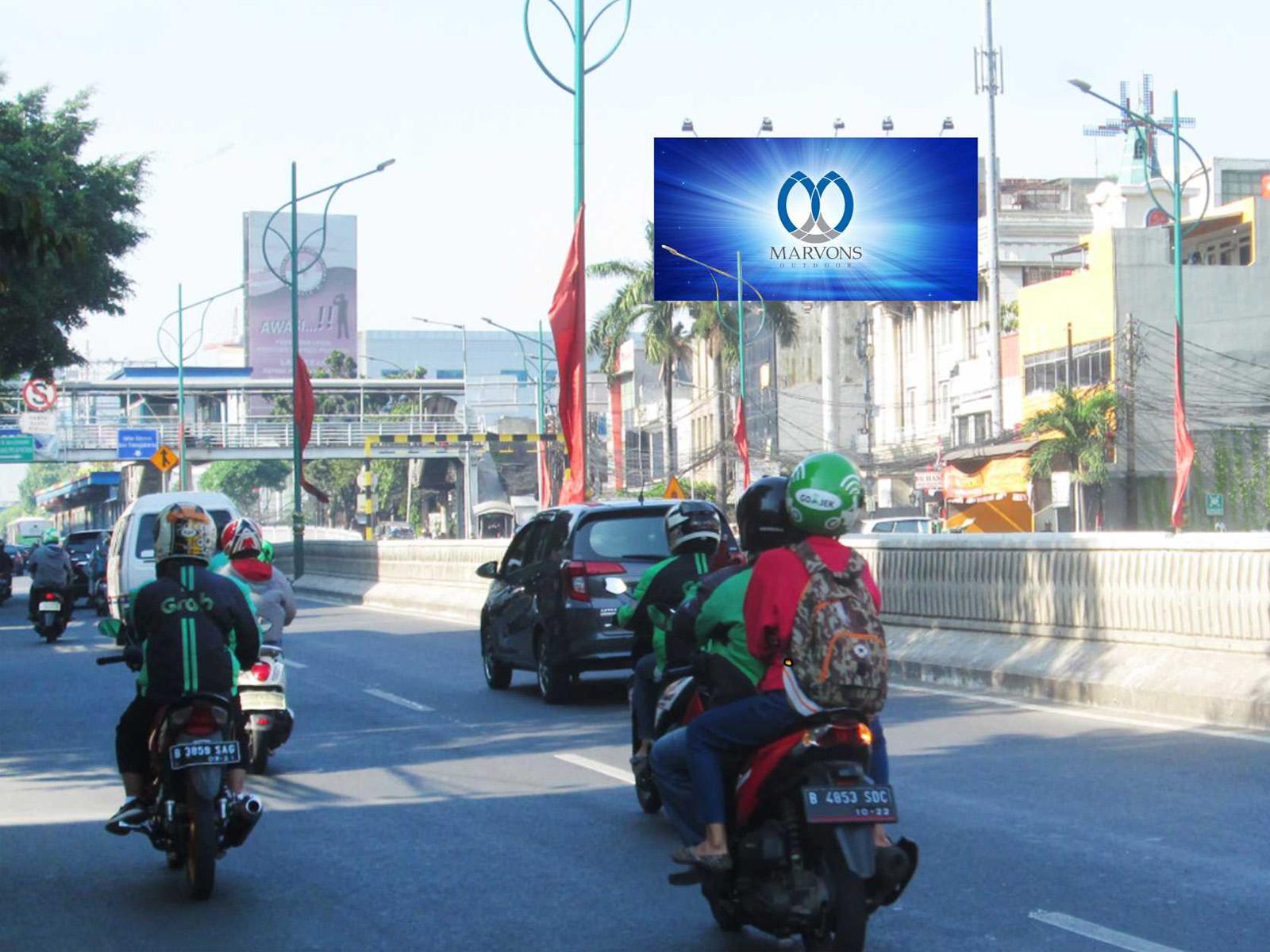 PT. Marvons Media Utama - Mampang Giant (MV 053) - 6m x 12m x 1 mk Horizontal